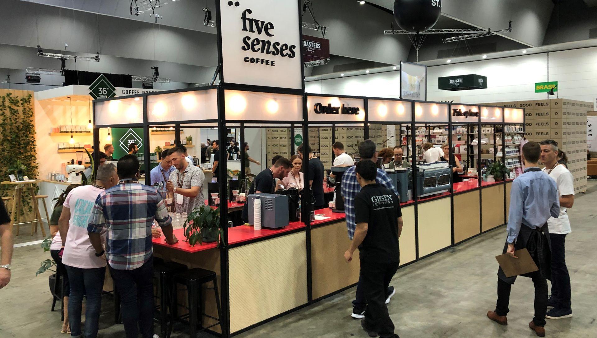 Five Senses Coffee Trade Show